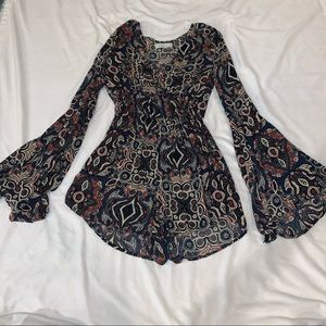 Long sleeve Abercrombie & Fitch romper